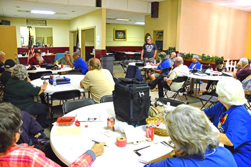 Vietnam Veterans of America meet the first Wednesday of the month at Greenville Shrine Club.  Members are informed about up to date Government programs that help all Veterans.