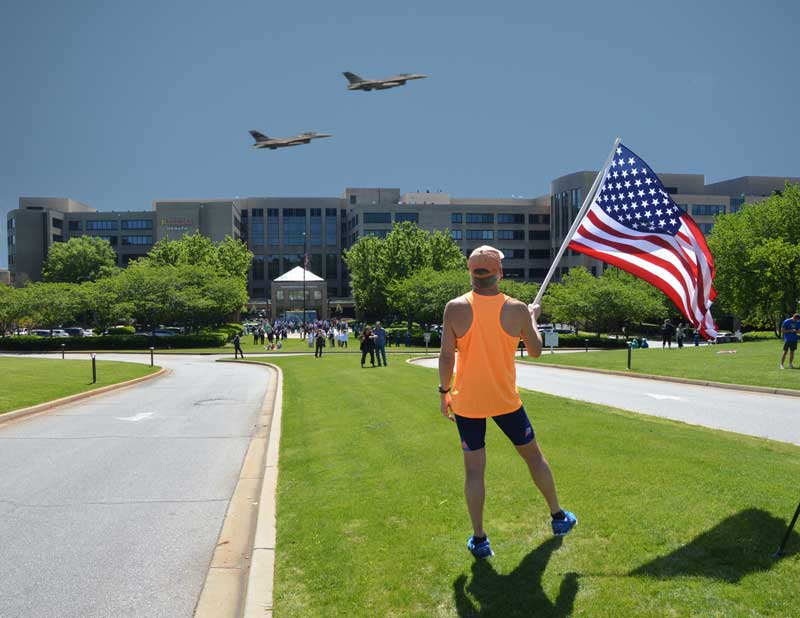 F16s honor First Responders