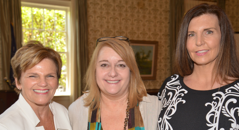 From left: GCRWC President Julie Hershey, Ashley Landess, president of the South Carolina Policy Council, and Stacey Shea.