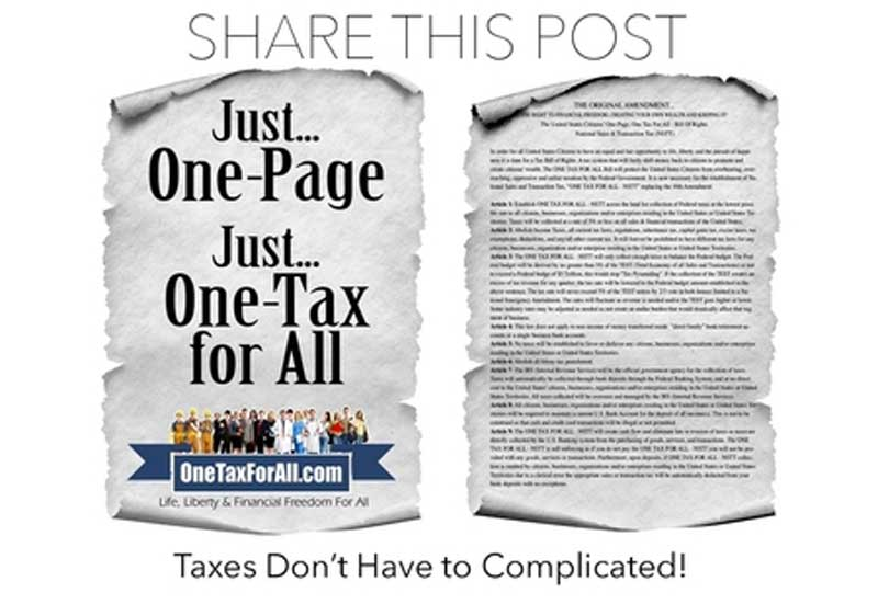 Taxes Dont Have to Be Complicated