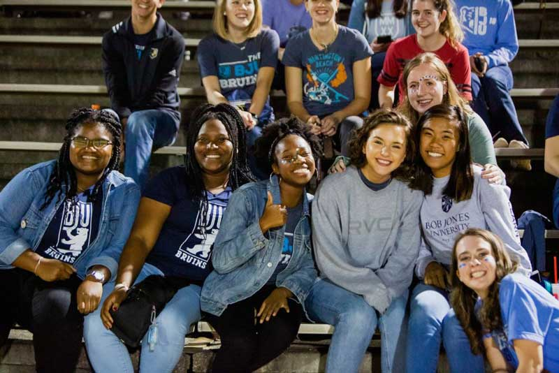 BJU Students at Soccer Game
