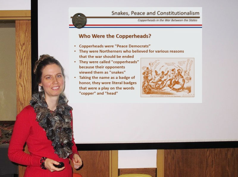 Copperhead Presentation by Heather Sheen at SCV