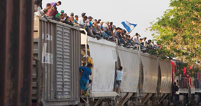 Illegal Immigrants Crossing 2019