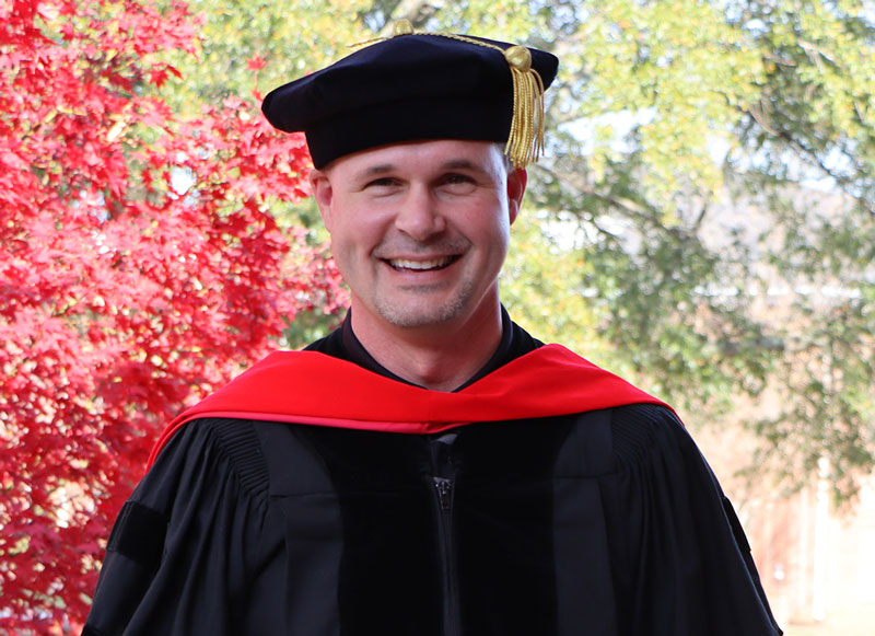 Jason Young – NGU alumnus chose NGU for a second time for its 'genuine interest in me and affordability.'