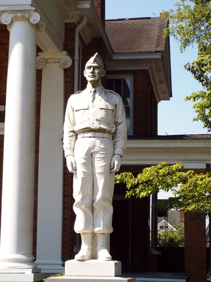 William C Lee Dunn NC museum statue