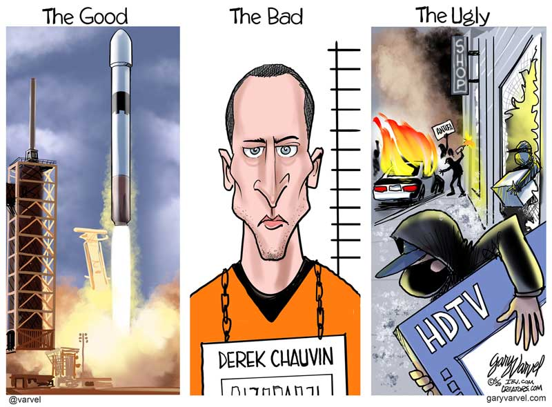 Derek Chauvin - The Good, The Bad and The Ugly