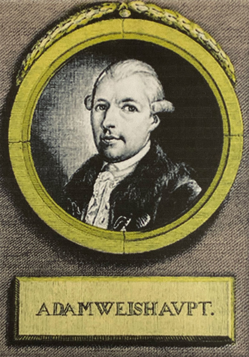 Adam Weishaupt (1748-1830), Founder of The Order of the Illuminati on May 1, 1776.