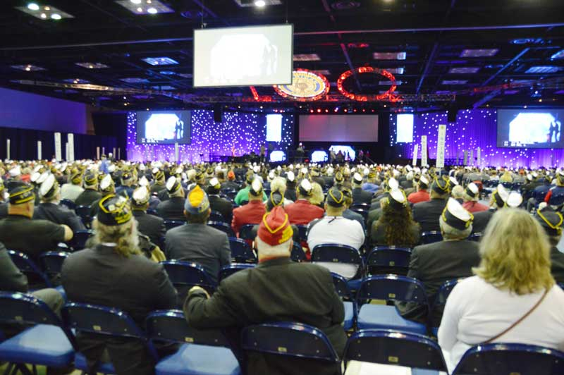 Members of American Legion from around the world gathered in Indianapolis, Indiana for the 101st National Convention.