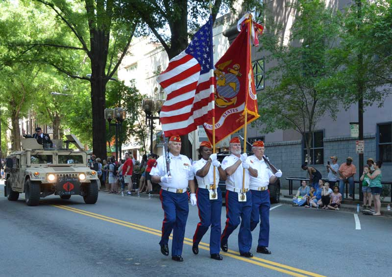 After years of absence Greenville experience the return of a Armed Forces Day Parade.  Thousands turned out to Main Street Greenville to enjoy the Parade and show their Patriotism and support for our Military.