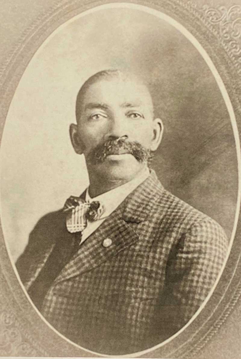 Bass Reeves - c.1838-1910. Deputy US Marshall in Arkansas and Oklahoma. First black marshall west of the Mississippi River. He was the probable source for