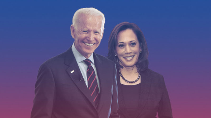 Joe Biden and Kamala Harris, Fundamental Change for America.