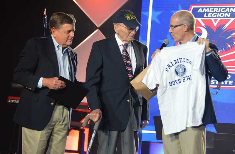 POW honored at Boys State US Army 1st Lt. William
