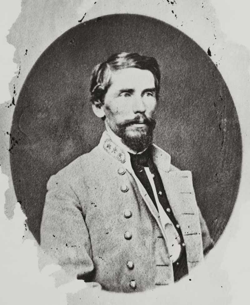 Confederate Major General Patrick Cleburne, KIA November 30, 1864, Franklin, TN, Irish born