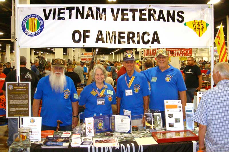 Members of the Vietnam Veterans of America attended the TD Convention Center Gun Show to inform Veterans and the public about history of Agent Orange and benefits they earned. The VVA Chapter 523 meets the first Wednesday of each month at the Greenville Shrine Club. Meal provided at 5:30 p.m.