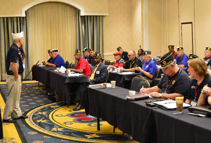 Members of the South Carolina American Legion gather in Columbia for 2018 Fall Conference.