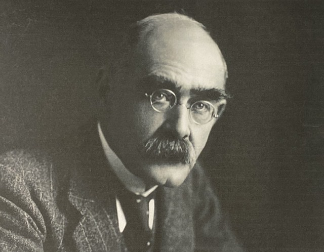 "Rudyard Kipling (1865-1936). Author of Poem: ""Lest We Forget."""