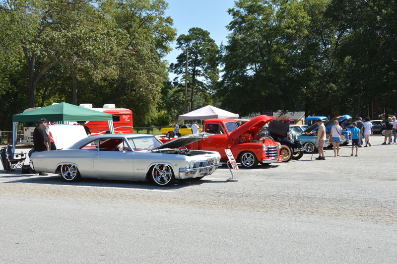 Vistors to the Freedom Fest could enjoy vintage automobile.