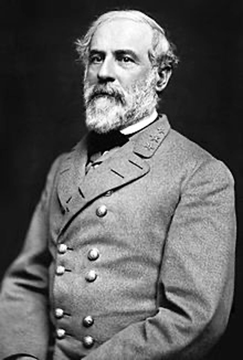 Robert E. Lee, Confederate General in March 1864