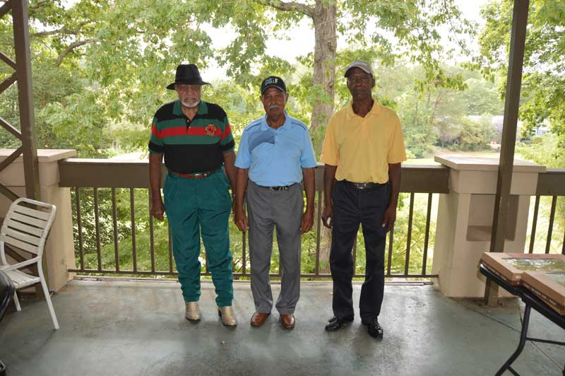 Second Place Winners: Otis Carr, Clyde Carr and Donnie King.