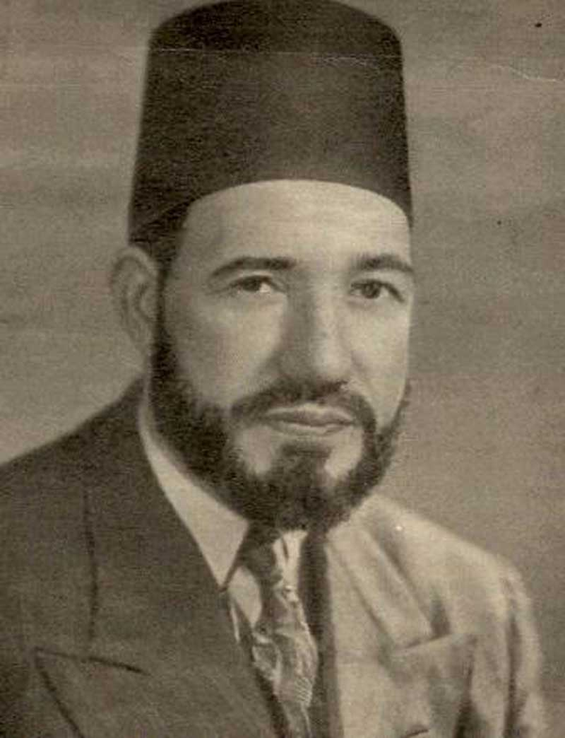 Hassan al-Banna, Founder of Muslim Brotherhood, 1906-1949 Public domain, wiki