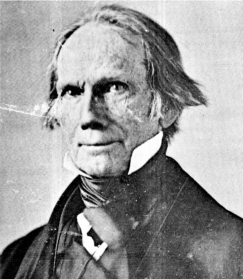 "Sen Henry Clay of Kentucky (1777-1852) one of the most prominent American politicians of his era. Famous for Whig Party leadership and his ""American System"" of economics that included high protective tariffs, government subsidies for key infrastructure industries, and a Central Bank for a single currency and fiat money creation. The Whigs were the foundation of the new Republican Party in 185"