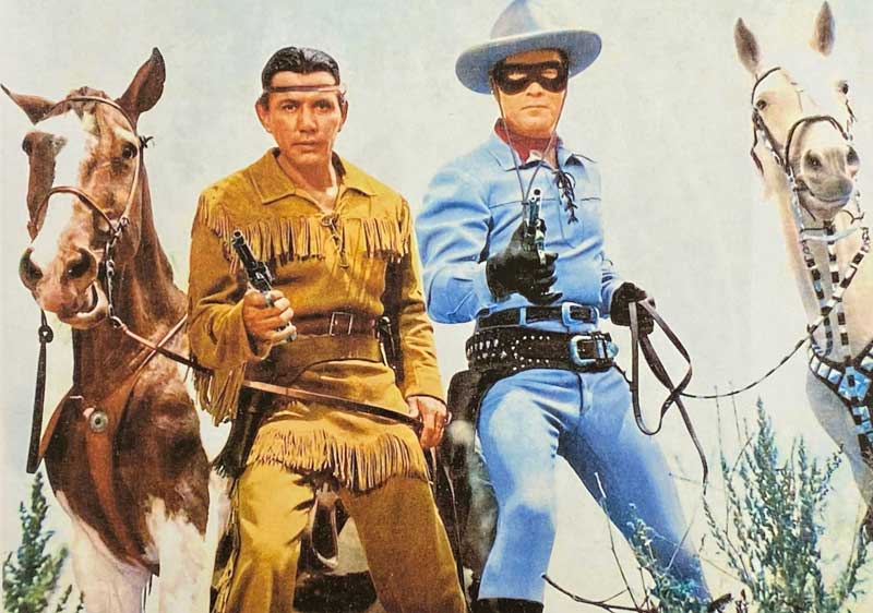 Jay Silverheels (Tonto) and Clayton Moore (The Lone Ranger) - Two American Hereos of