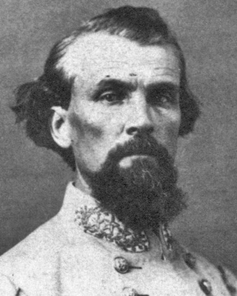 Nathan Bedford Forrest, Confederate Cavalry general most feared by Union generals.