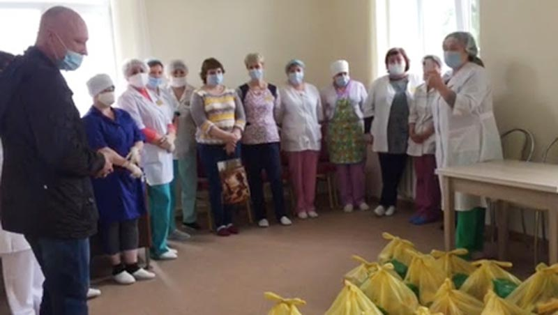 RUSSIAN CHRISTIANS SPUR 'LOVE IN ACTION:' Supported by Slavic Gospel Association (SGA, www.sga.org), evangelical Christians in Russia and the former Soviet Union have distributed groceries to provide more than 1.5 million free meals and a message of God's love to families facing hunger -- including frontline medical workers caring for COVID-19 patients.
