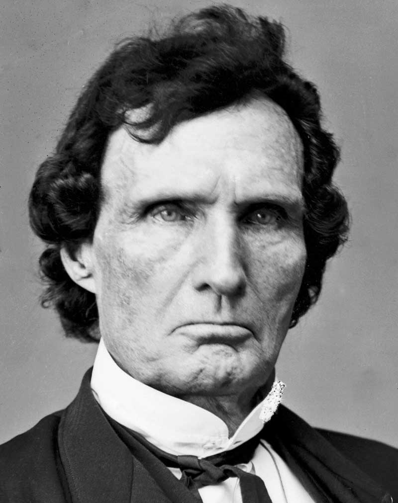 "Thaddeus Stevens, Pennsylvania Congressman, and Radical Republican leader. ""The Boss of America"""