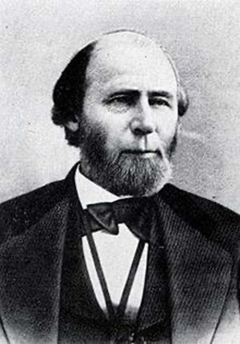 Governor William Holden, Reconstruction Governor of North Carolina, July 1, 1868 to March 22, 1871.