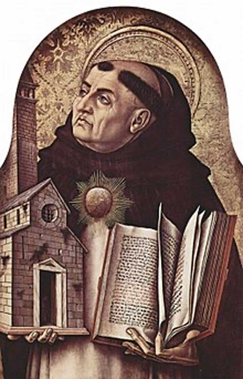 Thomas Aquinas (1225-1274) - Immensely influential Italian priest and Western moral and political philosopher.