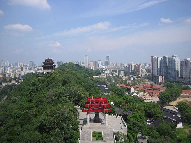 Wuhan, China, population over 11 million.