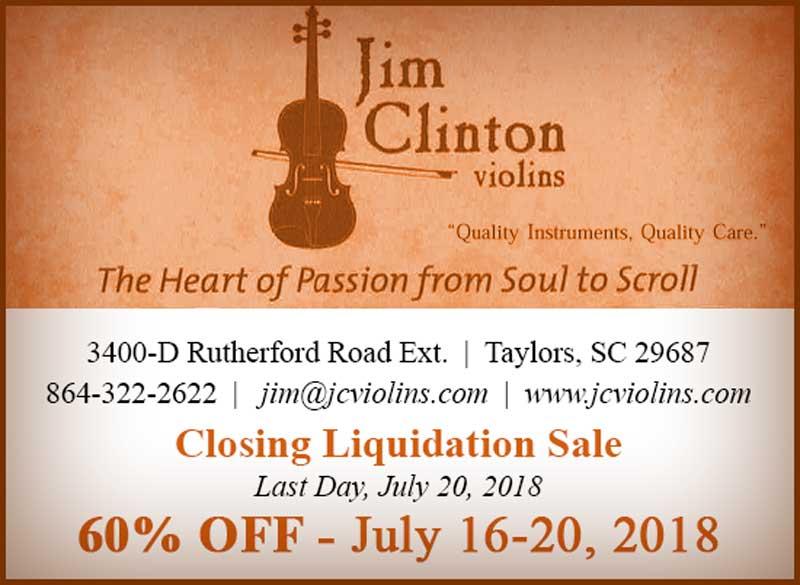 Jim Clinton Violins